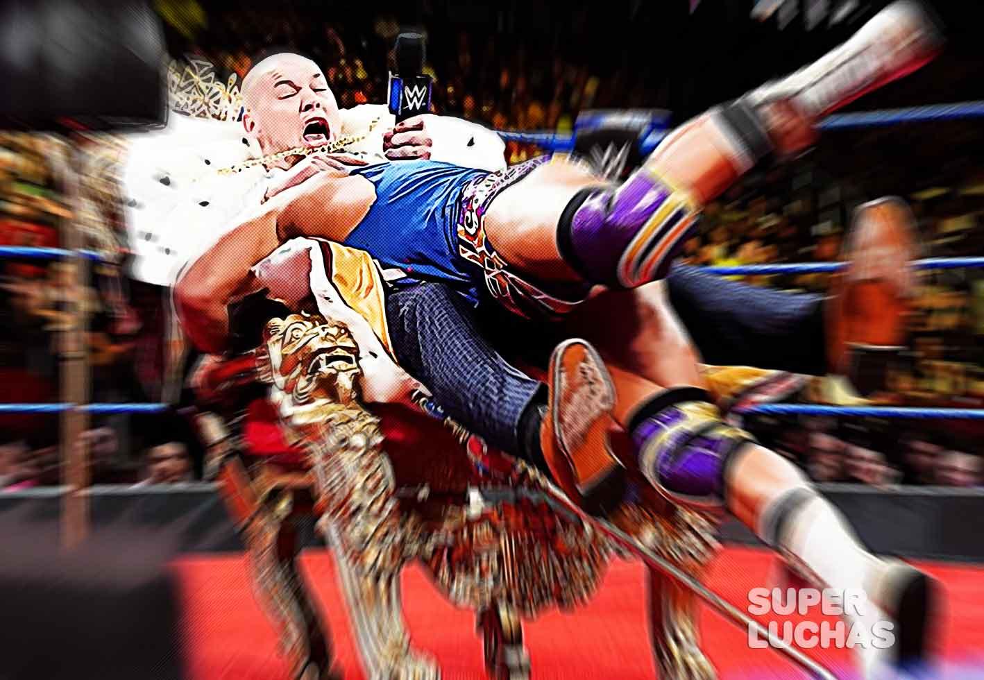 Chad Gable vs. Baron Corbin