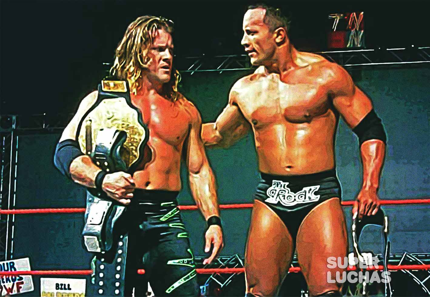 Chris Jericho y The Rock