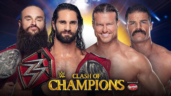 Robert Roode y Dolph Ziggler WWE Clash of Champions 2019 | Resultados en vivo | Seth Rollins vs. Braun Strowman 11
