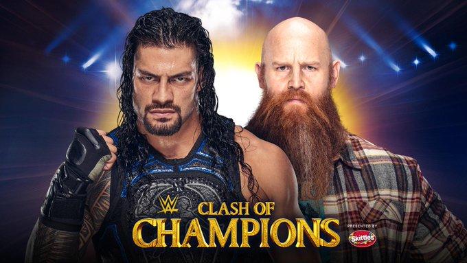 Inesperado regreso de Luke Harper WWE Clash of Champions 2019 | Resultados en vivo | Seth Rollins vs. Braun Strowman 51