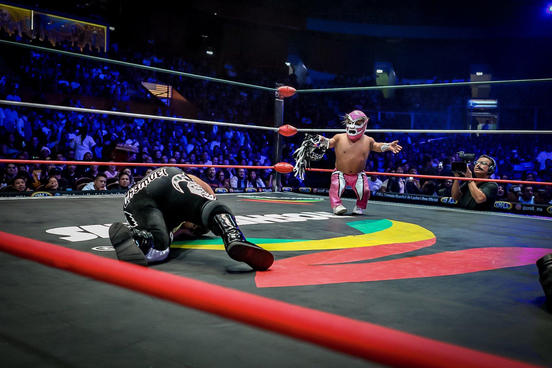"""CMLL: """"Grand Prix 2019"""" En polémico final gana Volador Jr. por México 2"""