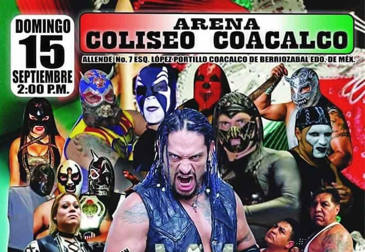 Mexicanos al Grito de Lucha en el Coliseo Coacalco 2