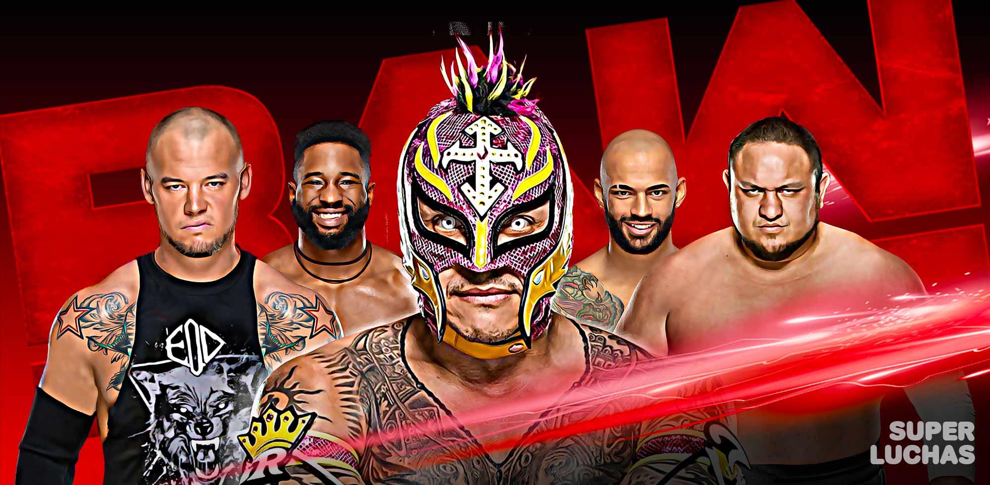 Cobertura WWE Raw 02 09 19
