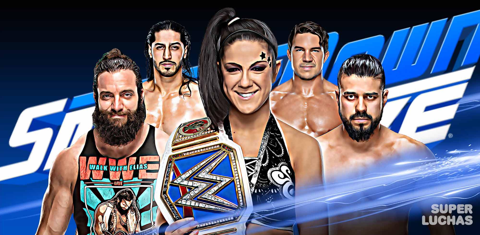 Cobertura WWE SmackDown Live 3 de septiembre de 2019