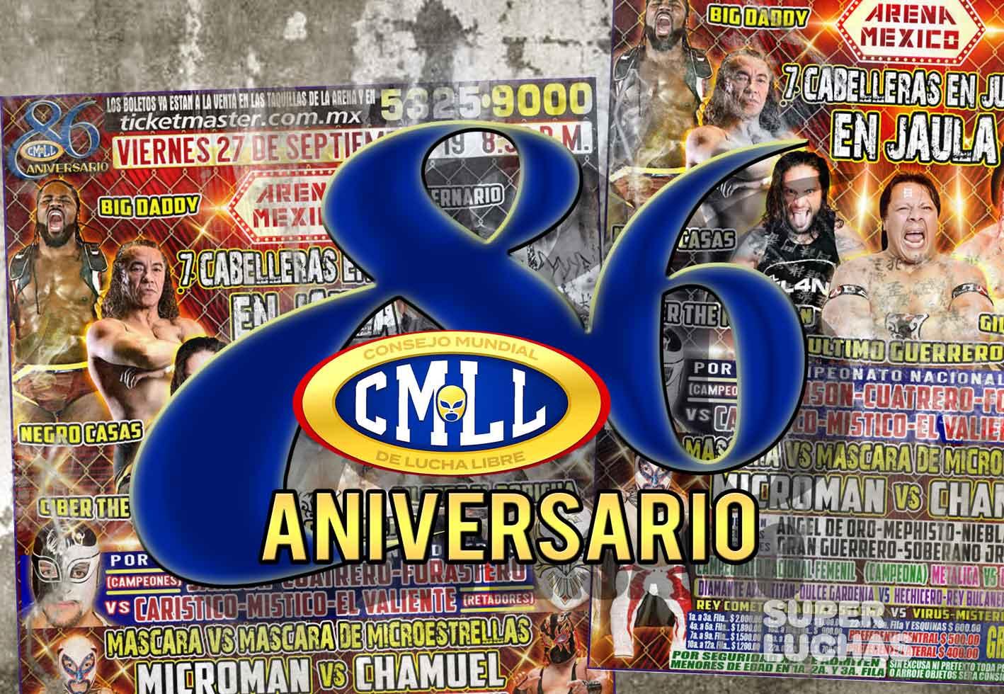 Cobertura CMLL Aniversario 86