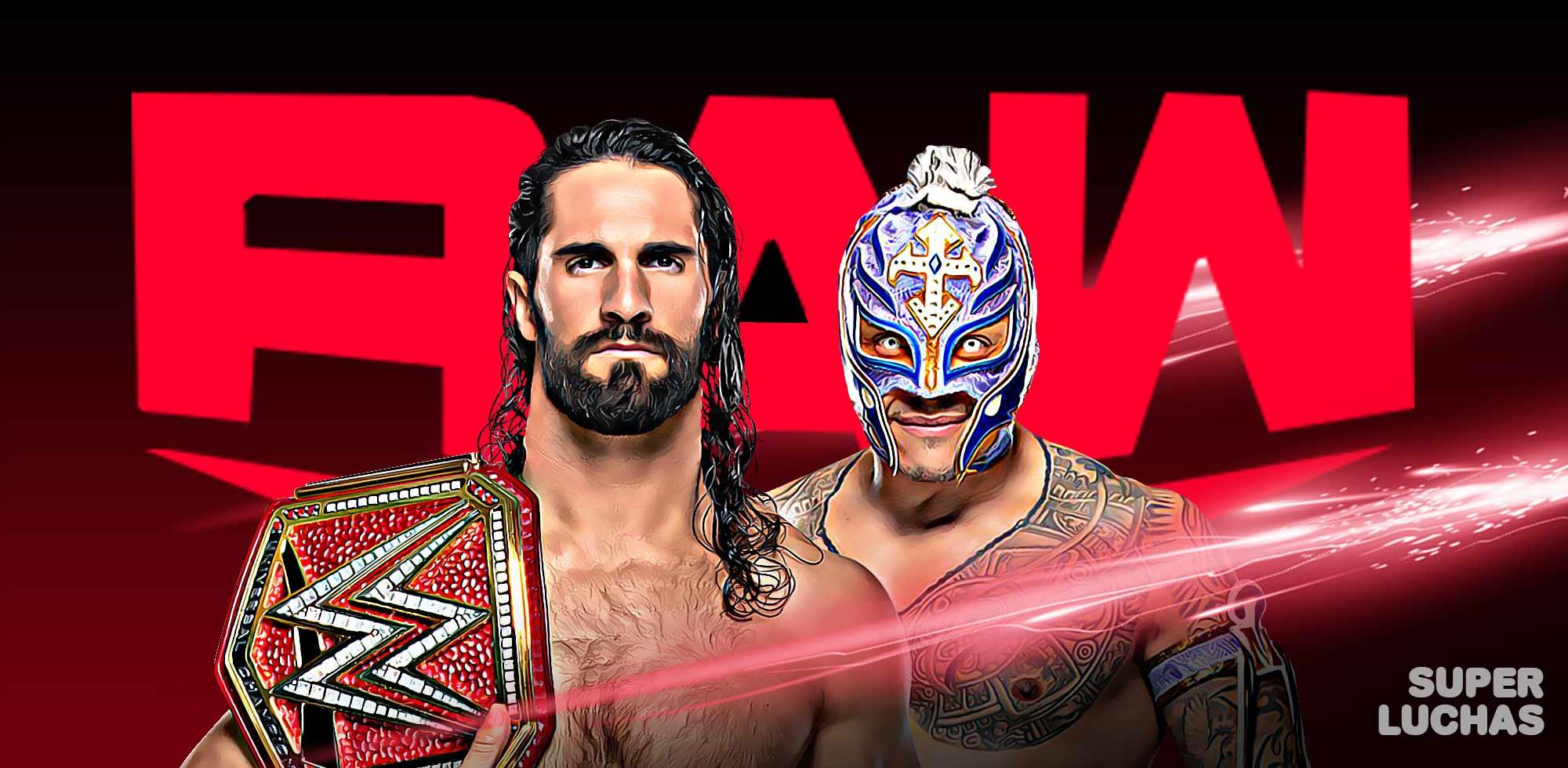 Cobertura WWE Raw 30 09 19
