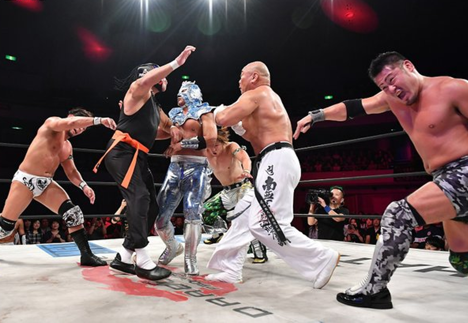 "Dragon Gate: ""The Gate of Origin 2019"" Juventud supera a experiencia 8"