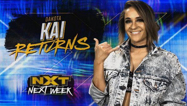 Dakota Kai regresa