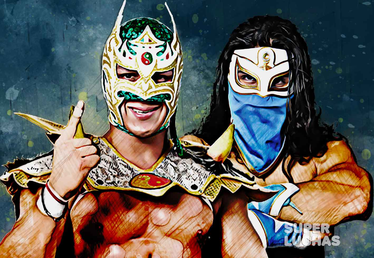 Dragon Lee y Bandido