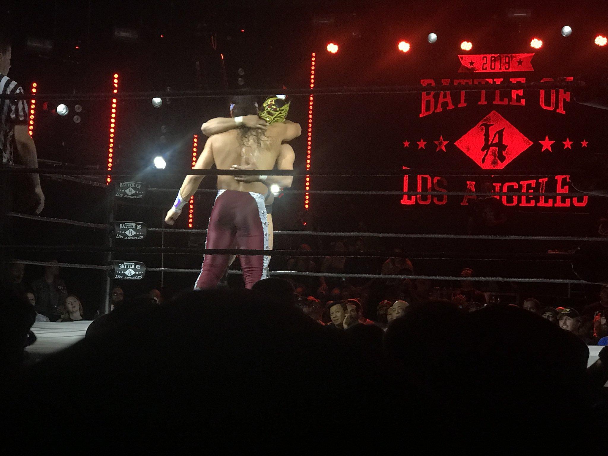 Lucha perfecta: BOLA 19: Bandido vs. Dragon Lee