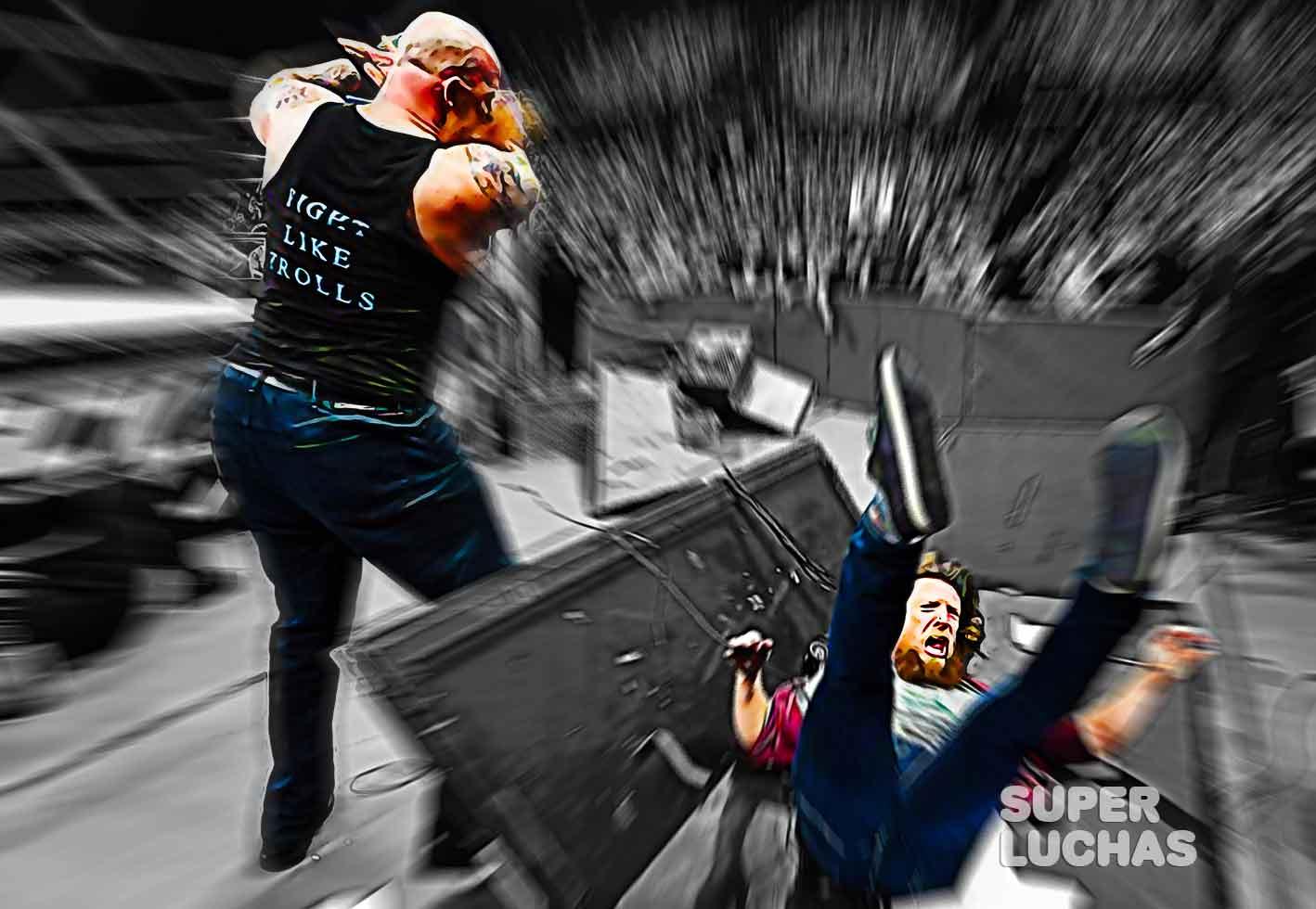 Eric Rowan vs. Daniel Bryan