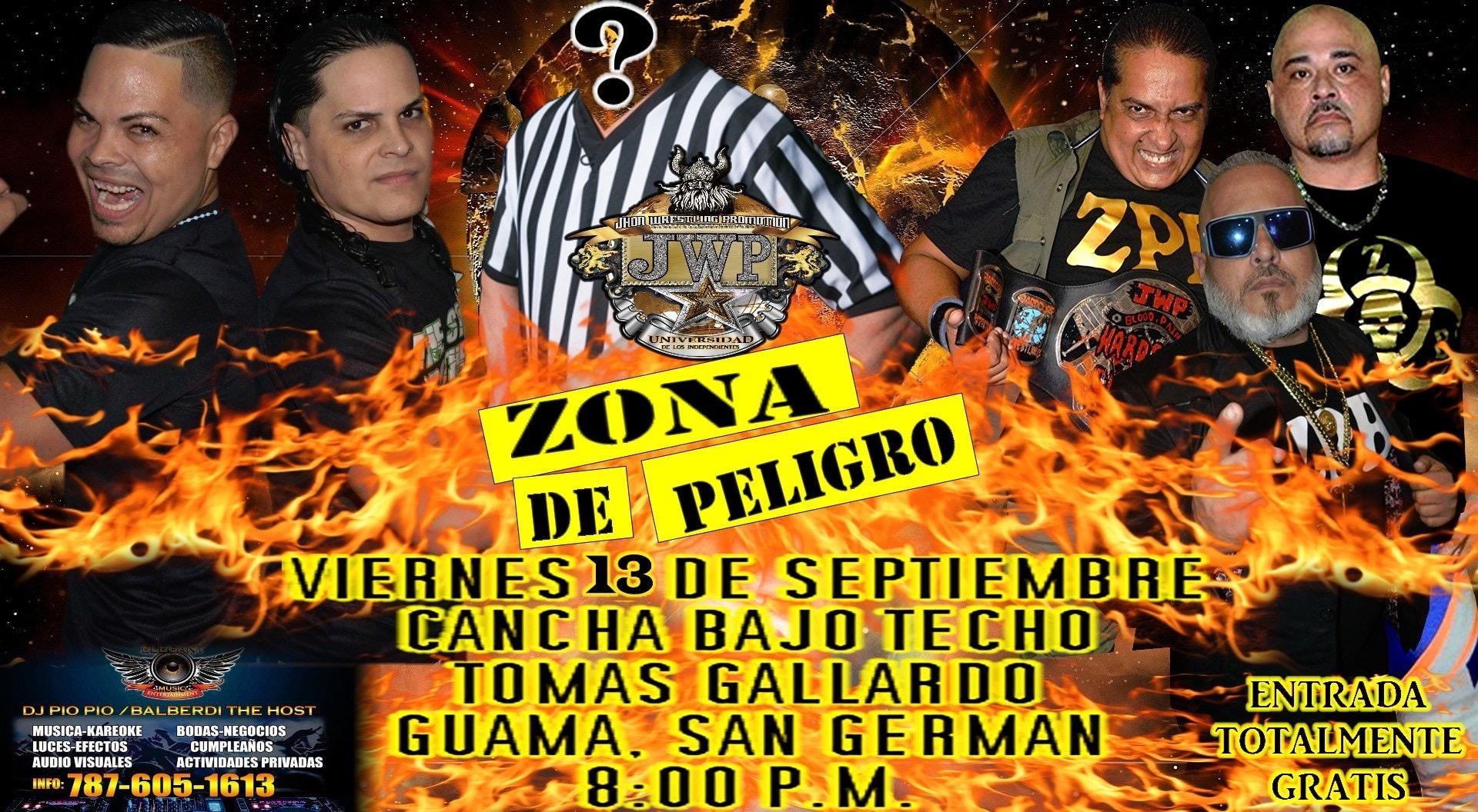 The Stars Brothers confirmados para Zona de Peligro de la JWP 4