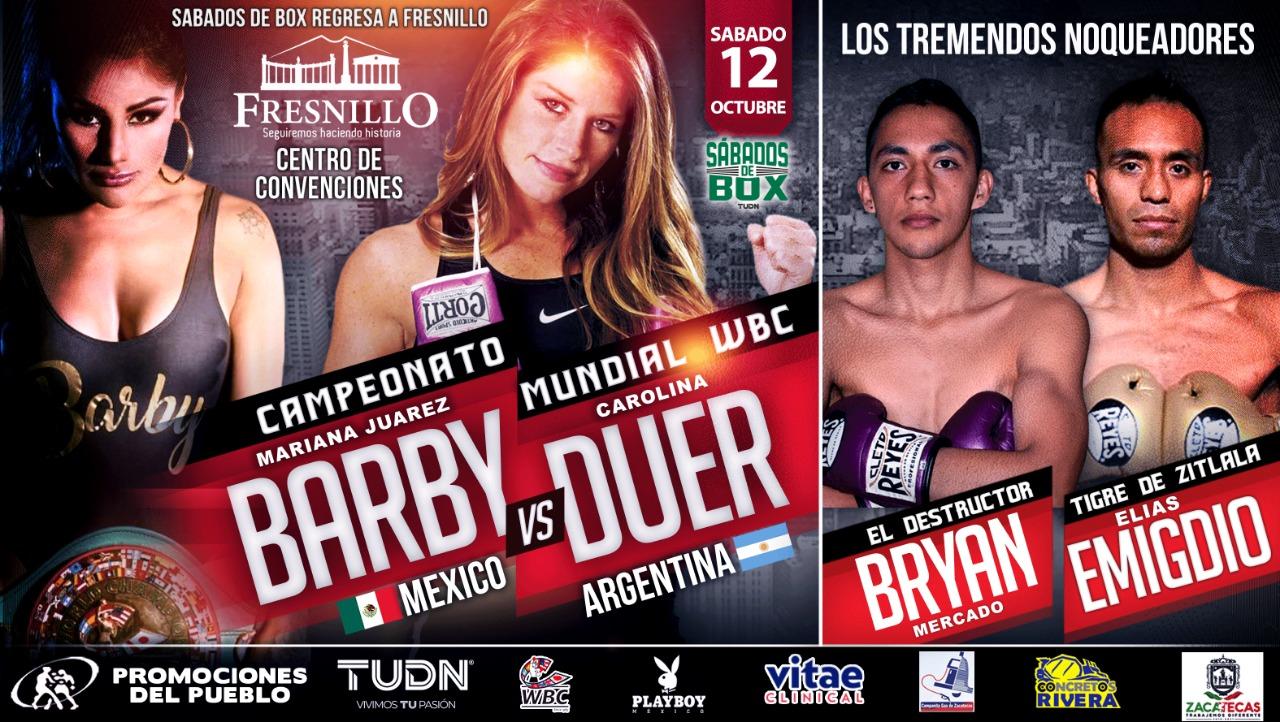 Barby Juárez contra Turca Duer en Zacatecas 1