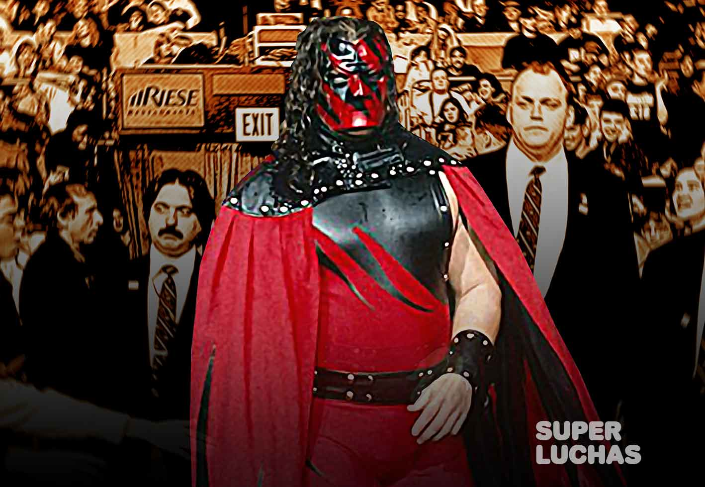 Antes de Kane, WWE tenía pensado otro nombre para el personaje 1