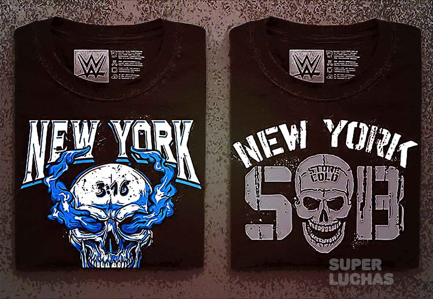 Las nuevas camisetas de Stone Cold Steve Austin
