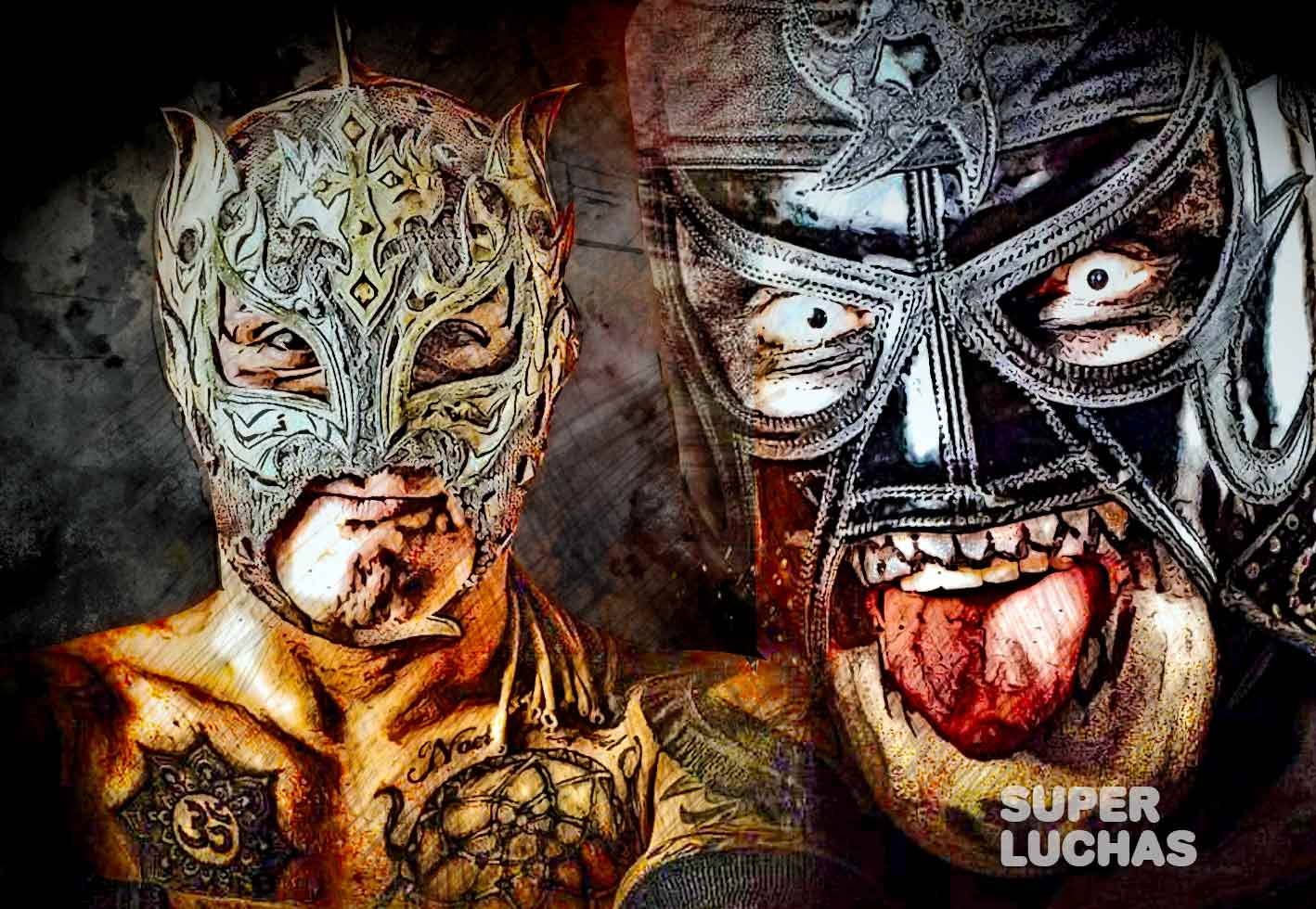 Lucha Brothers Pentagon Jr. Rey Fenix