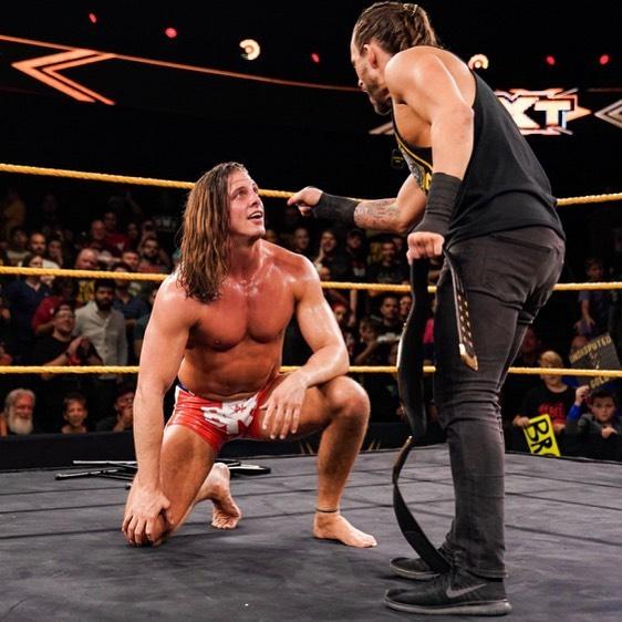 Matt Riddle se lesionó NXT