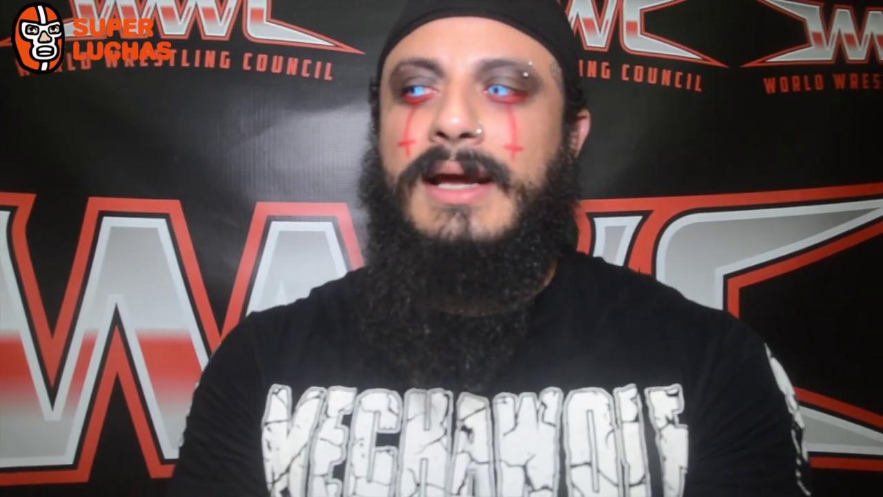 """Mecha Wolf: """"Nos unimos a Miguel Perez Jr. y HeadHunters de luchadores Boricuas en el Grand Prix"""" 1"""