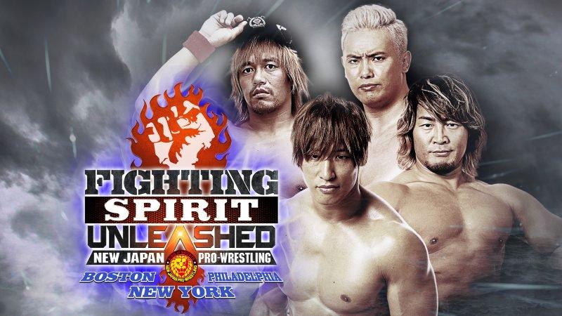"Carteles ""Fighting Spirit Unleashed 2019"" NJPW regresa a EU 1"