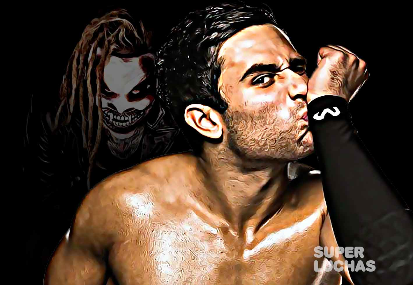 Noam Dar Bray Wyatt The Fiend