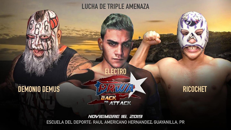 PRWA presenta Back to Attack - Lucha de ROH en Puerto Rico 2
