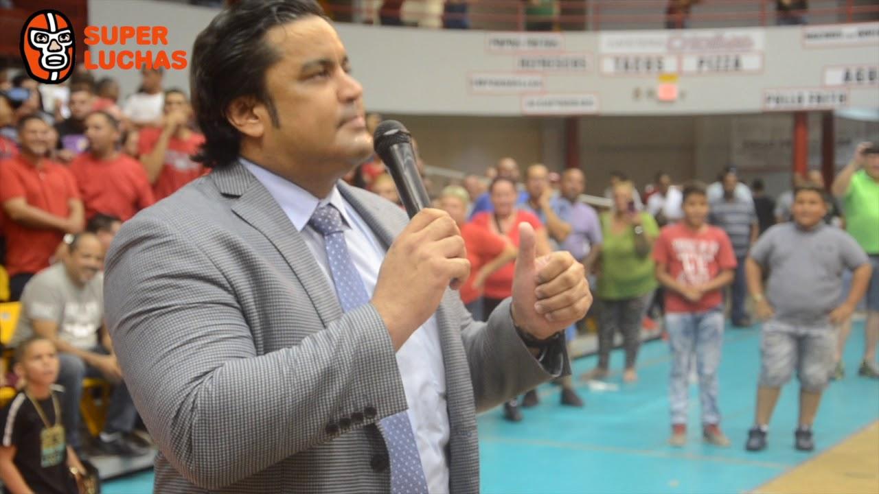 """Ray Gonzalez: """"Gilbert yo te voy a presentar al luchador misterioso al que te vas a enfrentar"""" 5"""