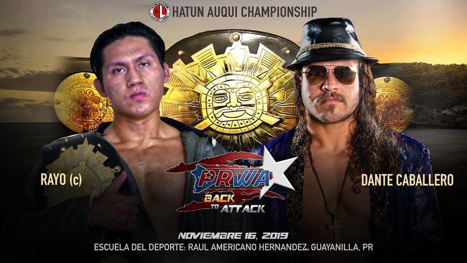 PRWA presenta Back to Attack - Lucha de ROH en Puerto Rico 3