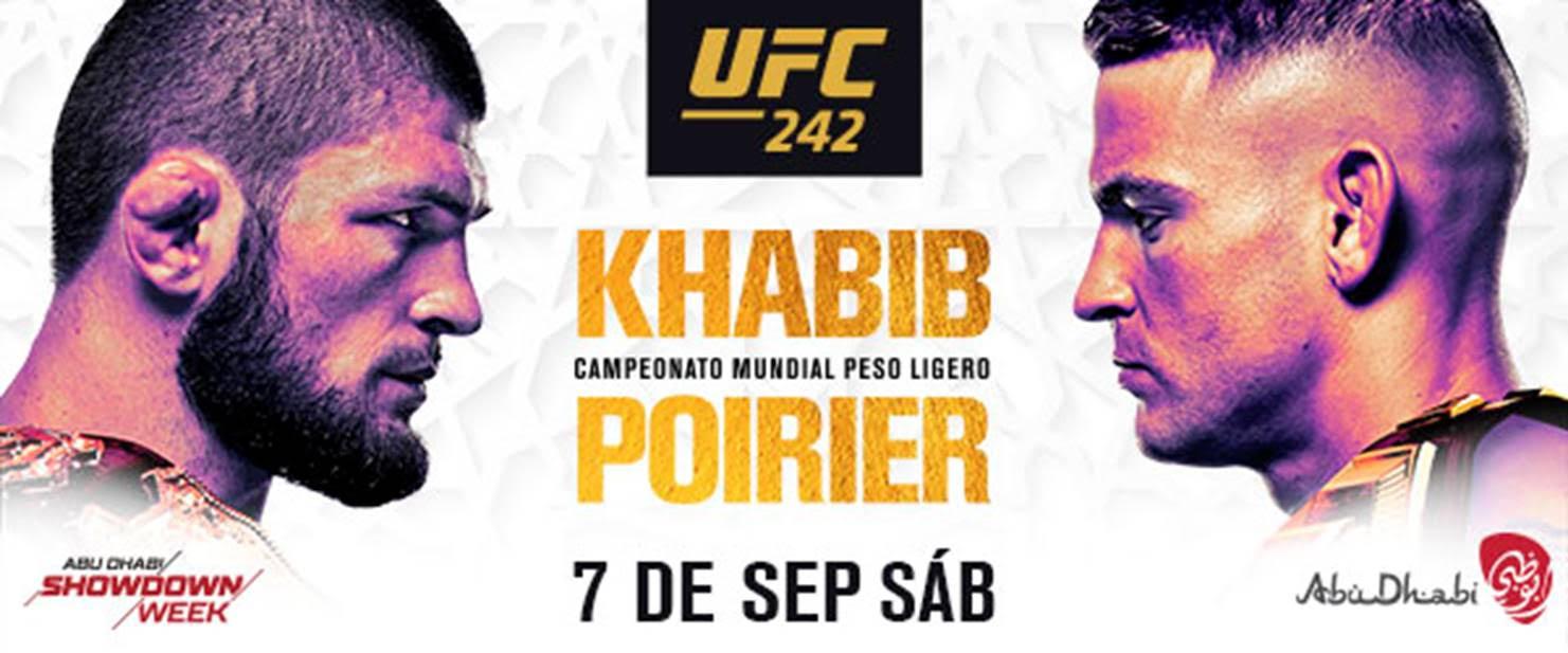 Resultados UFC 242: Khabib Nurmagomedov sometió a Dustin Poirier 1