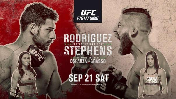 Lo nunca visto: comentarista se esconde en UFC México 1