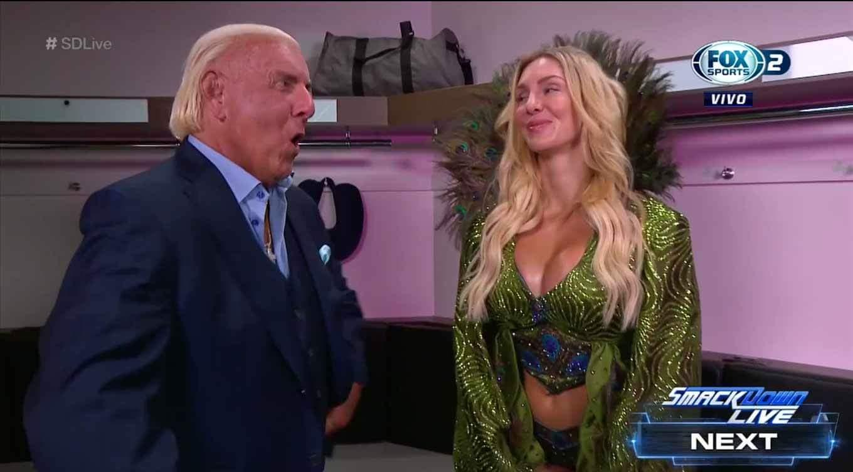 Ric Flair apareció en SmackDown