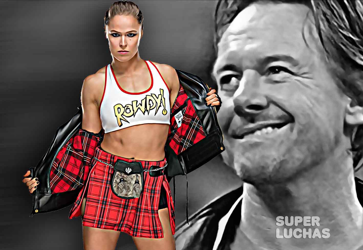 Ronda Rousey Roddy Piper
