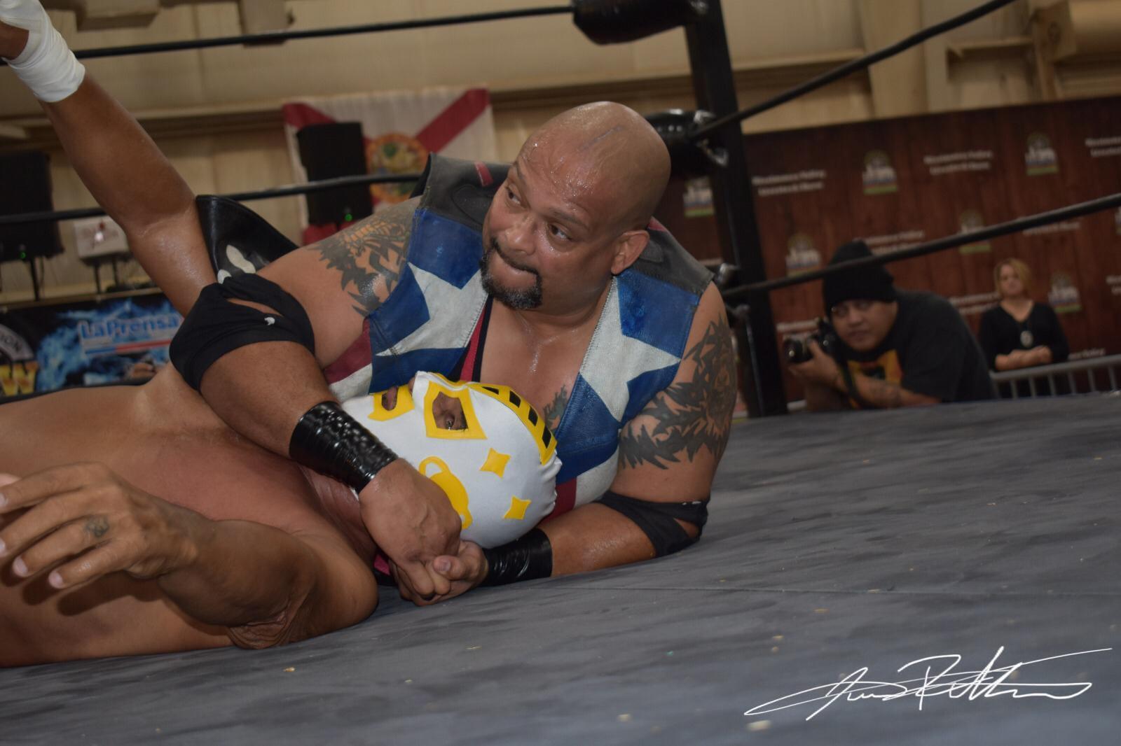 Resultados y Fotos NGCW Hostile TakeOver - Psycho Clown quiere lucha entre Carlito y Texano Jr por el Campeonato 2