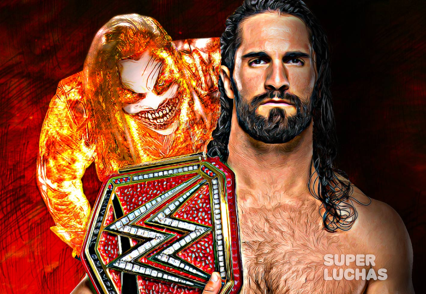 Seth Rollins vs. The Fiend
