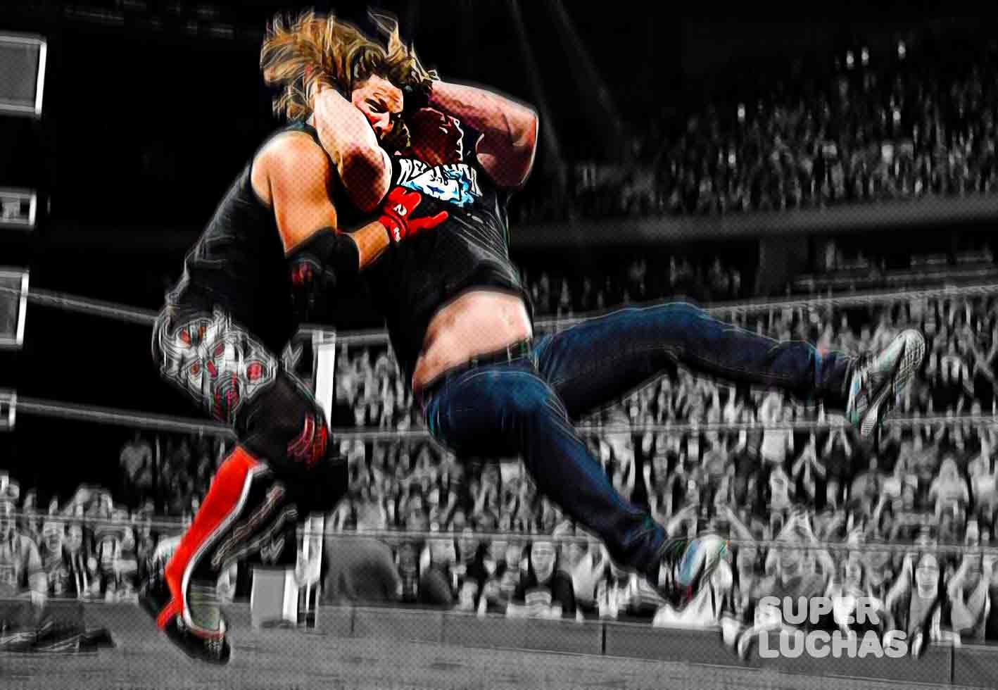 Stone Cold Steve Austin Stunner AJ Styles