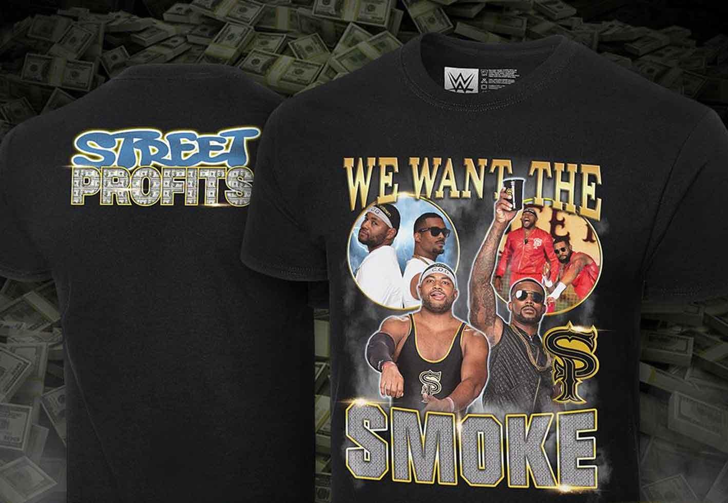 Street Profits camiseta