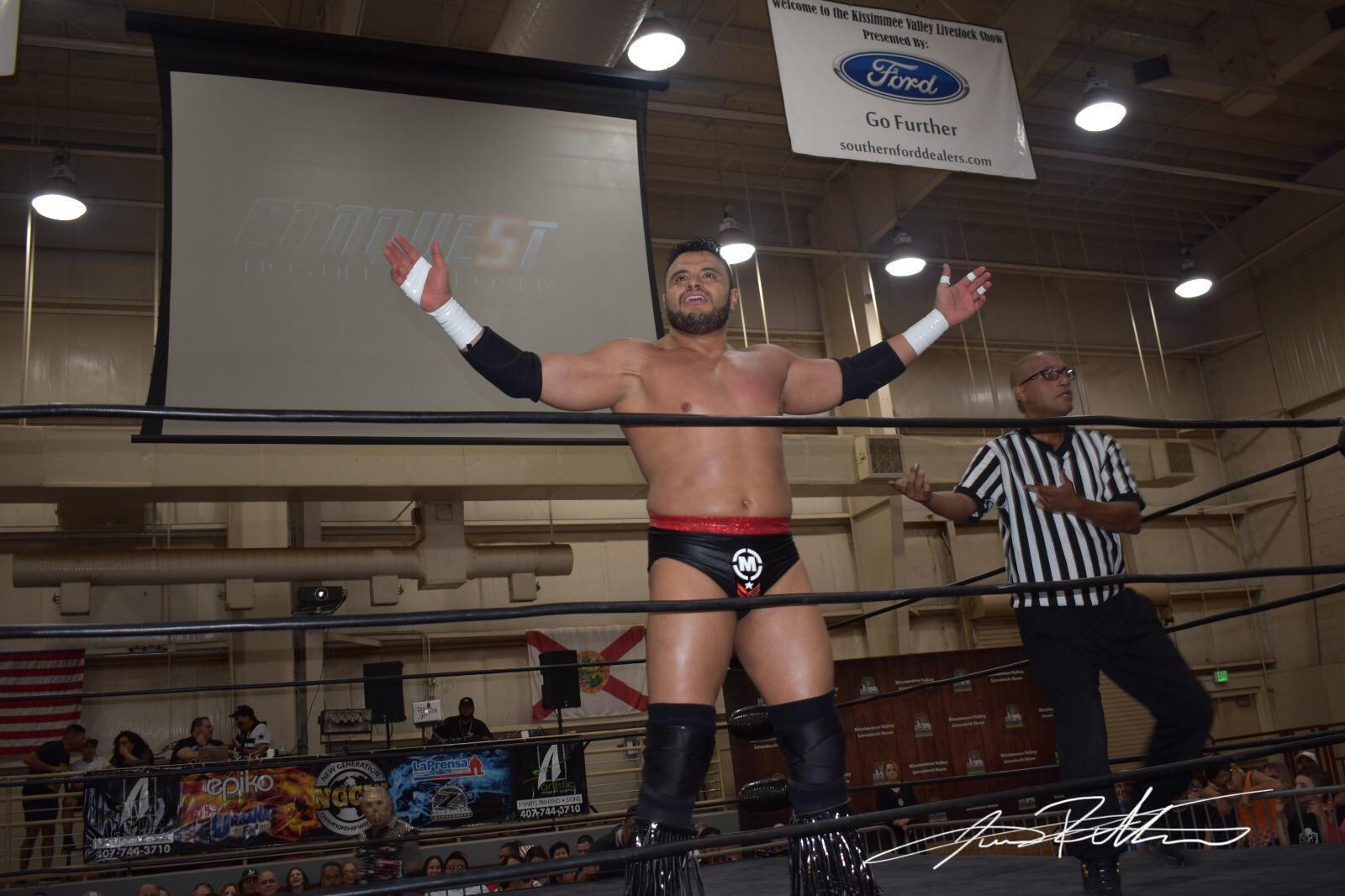 Resultados y Fotos NGCW Hostile TakeOver - Psycho Clown quiere lucha entre Carlito y Texano Jr por el Campeonato 3