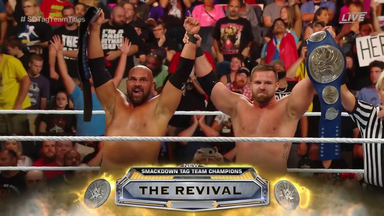 ´The Revival NUEVOS Campeones de Parejas SmackDown