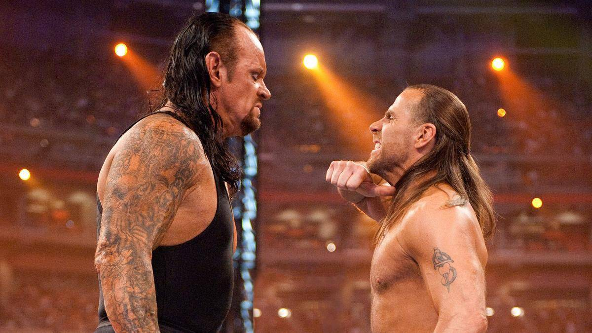 The Undertaker vs. Shawn Michaels