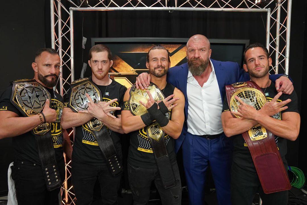 Bobby Fish fue sacado de NXT