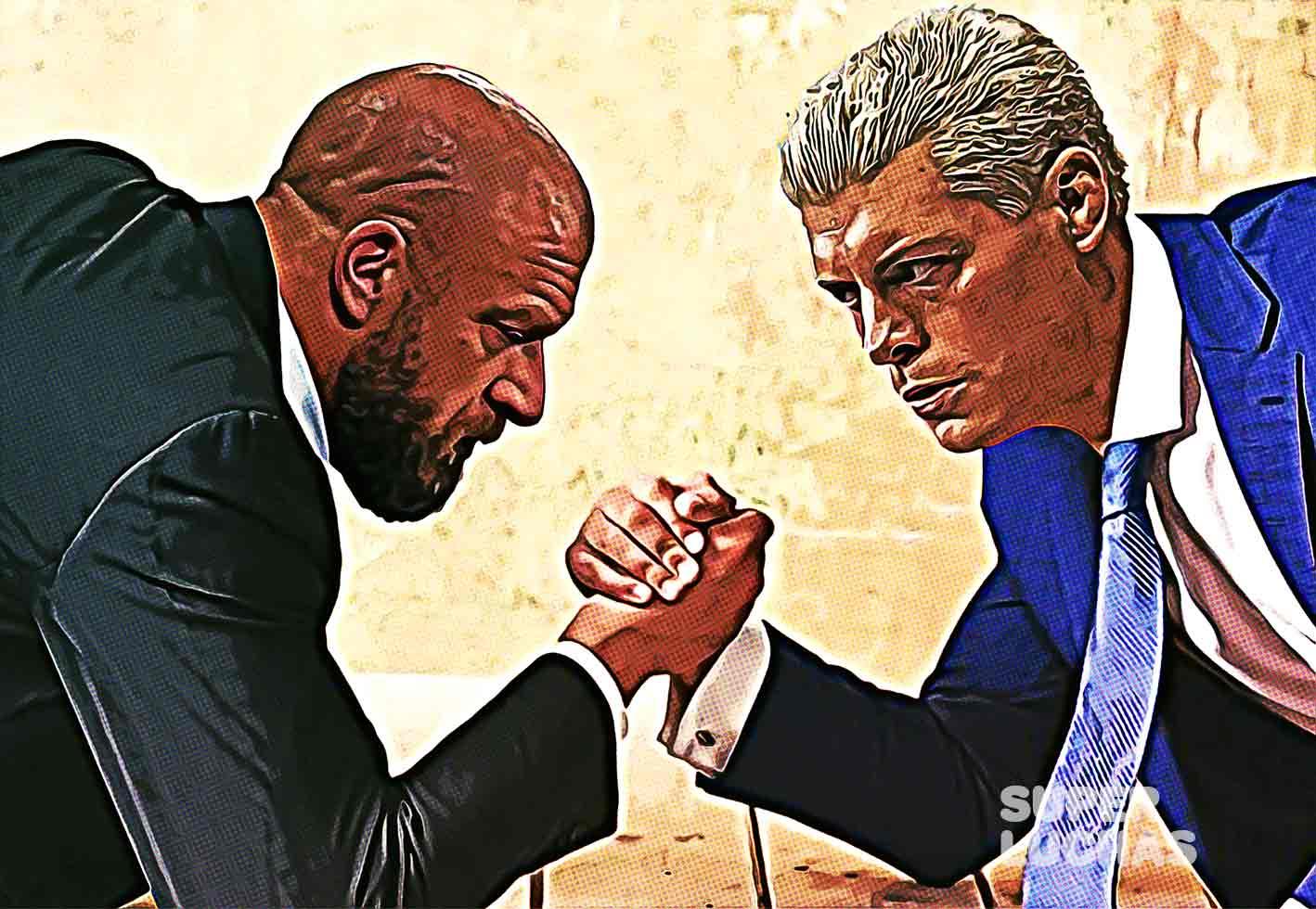 Triple H vs. Cody Rhodes / WWE vs. AEW