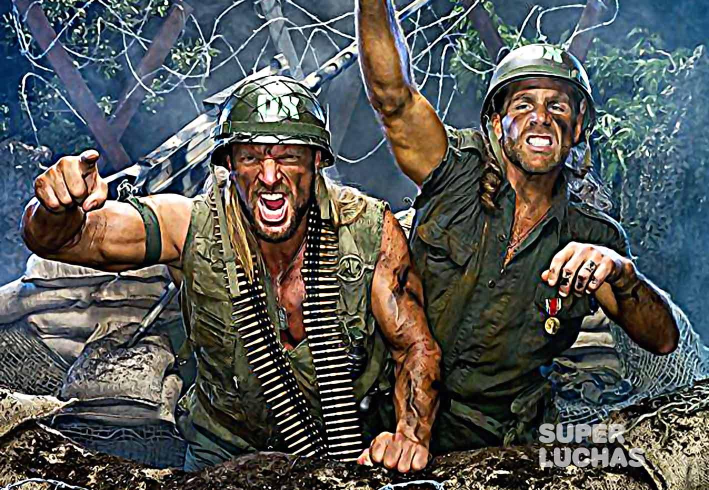 Triple H y Shawn Michaels