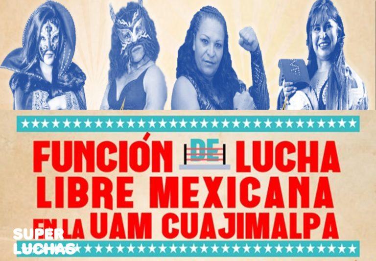 Mujeres en Lucha...Libre en la UAM Cuajimalpa 1