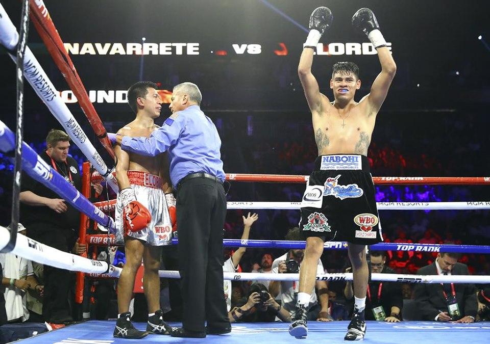 Vaquero Navarrete venció a Juan Elorde en 4 rounds 4