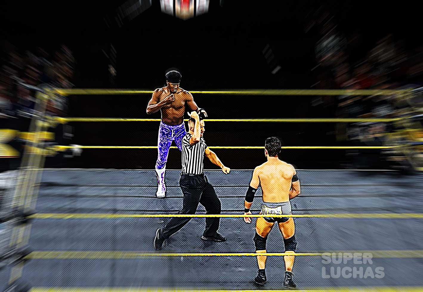 Velveteen Dream vs. Roderick Strong