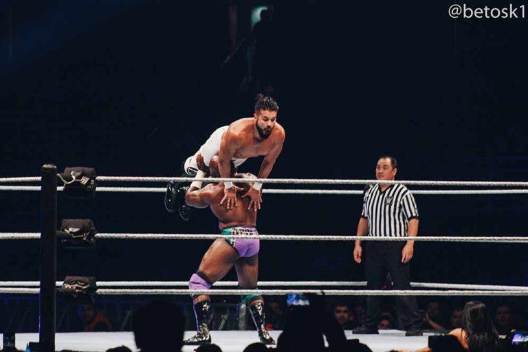 Andrade vs. Apollo Crews