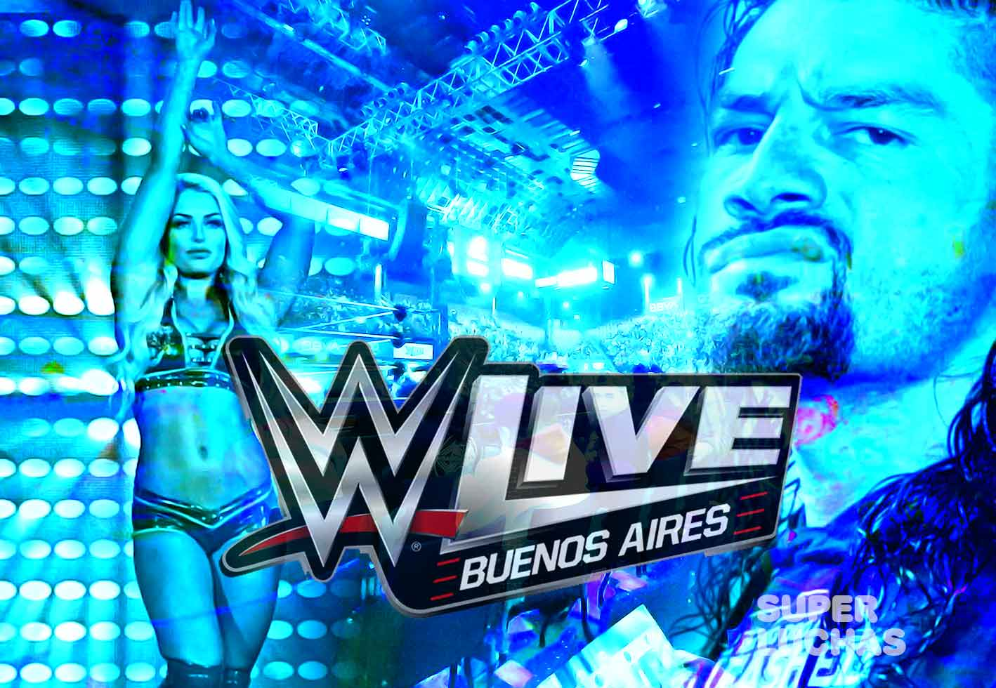 WWE Live Buenos Aires