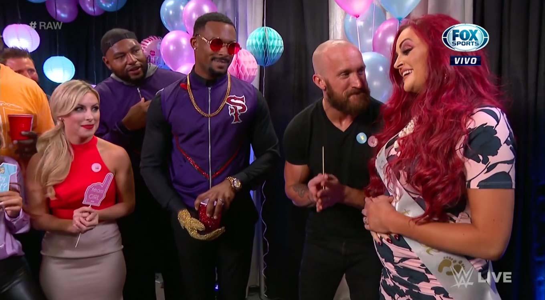 WWE RAW (16 de septiembre 2019)   Resultados en vivo   The Fiend va por Rollins 15