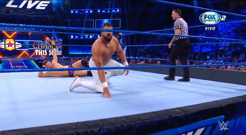 SmackDown Live (10 de septiembre 2019) | Resultados en vivo | La noche del Undertaker 6