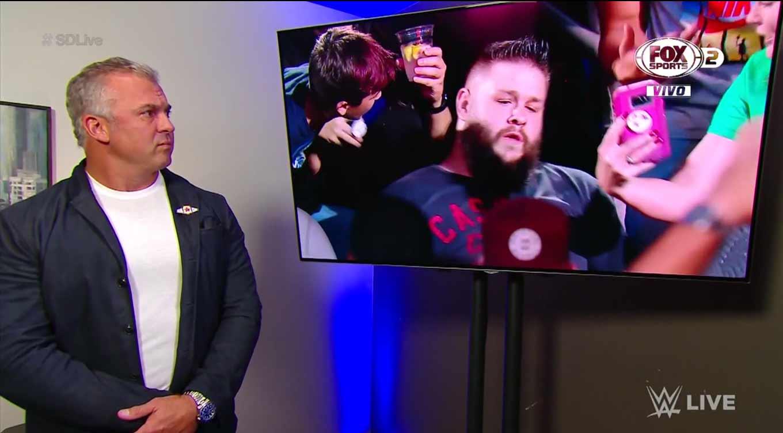 WWE SMACKDOWN LIVE (17 de septiembre 2019)   Resultados en vivo   King Corbin 7