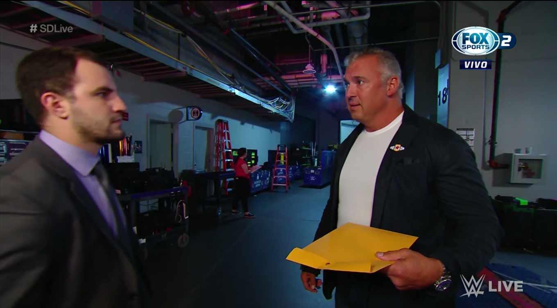WWE SMACKDOWN LIVE (17 de septiembre 2019)   Resultados en vivo   King Corbin 8